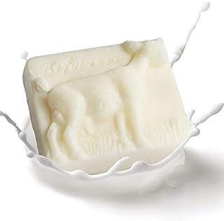 RQWY Jabón Jabón natural Leche de cabra Aceite esencial Jabón hecho a mano Piel Hidratante Jabón