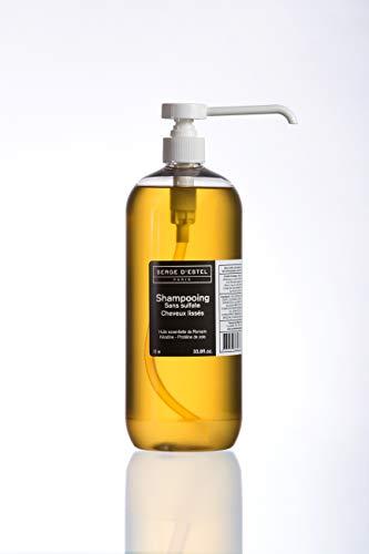 Shampoing Sans Sulfate à la Kératine 1L Shampoing Après Lissage Protège et Maintient le Lissage Brésilien Japonais. Soin à la Kératine Cheveux Lissés. Non Testé sur les Animaux.