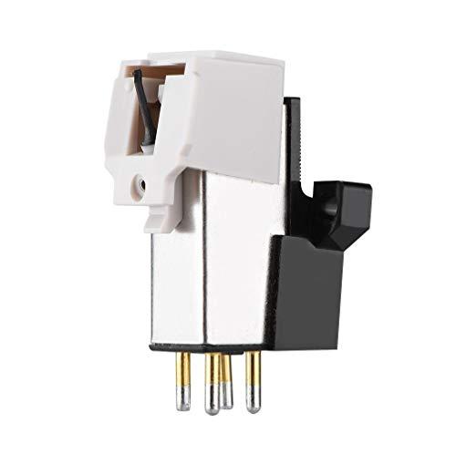 Wendry Stylus para Tocadiscos Tocadiscos, Cartucho magnético Reemplazo de Stylus Cartucho Universal para Tocadiscos con Aguja de Vinilo LP para Tocadiscos Tocadiscos