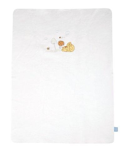 Julius Zöllner 9570011060 Couverture en coton Winnie l'ourson Sunny Day, 75 x 100 cm