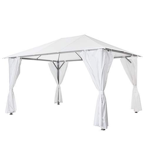 tepro Pavillon weiß KABARA 300x400x280 cm Garten Camping Terrasse 5539