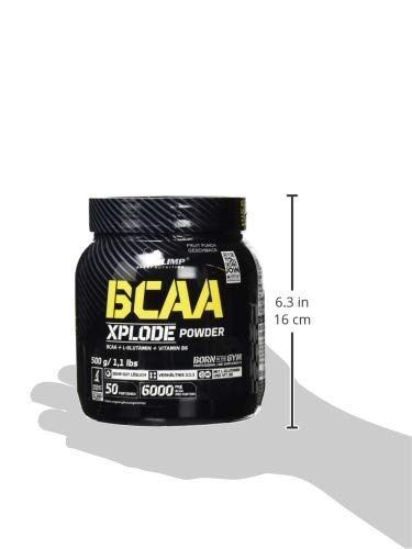 Olimp BCAA Xplode Powder Fruit Punch, 1er Pack (1 x 500 g) - 4