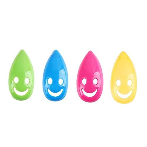 NIDONE Tandenborstelhouder zuignap tandenborstel hoofd cover glimlach gezicht muur mount plastic draagbare kleurrijke…