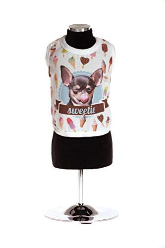 Trilly Tutti Brilli Vittoria8Bial Vittoria Jersey T-shirt met opdruk L, wit
