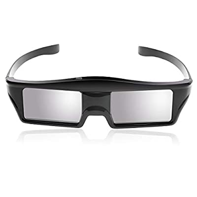 Rechargeable 3D Active Glasses RF Shutter Glasses for 3D Blue Tooth Projector Sony Panasonic Samsung 3D TVs