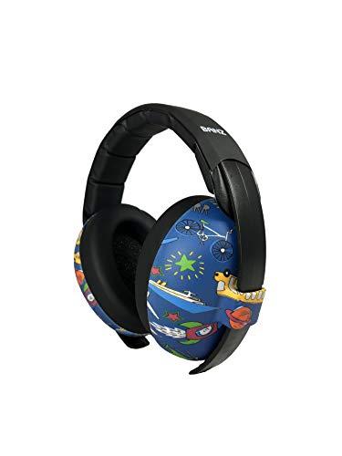 BANZ Ohrenschützer weich und bequem mit Schutz Hörgerät für Babys und Kinder klein (Rauschunterdrückung Bewertung Führer in der Industrie) 0-2 Jahre Transport