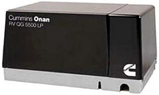 RV Trailer Camper Cummins Onan Generator Qg 5500W Lp Vapor ONAN 5.5HGJAB-1119