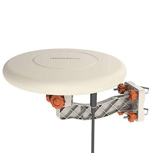 FRITHJILL HDTV Antenna,150 Miles TV Antenna Indoor Outdoor Omni-Directional 360 Degree Reception