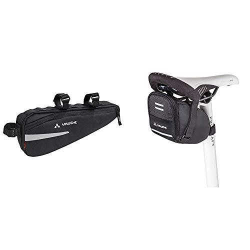 VAUDE Cruiser Bag Radtaschen, Black, one Size & Satteltasche Race Light, Black, XL, 11814