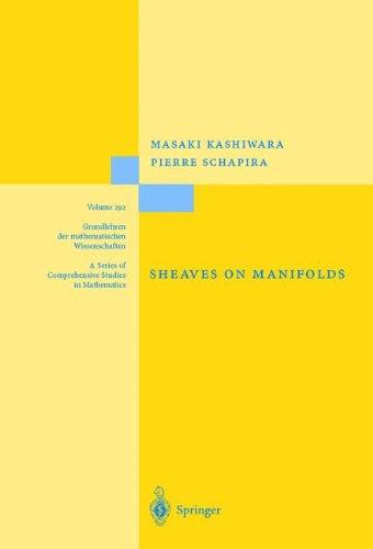 Sheaves on Manifolds: With a Short History. «Les débuts de la théorie des faisceaux». By Christian Houzel (Grundlehren der mathematischen Wissenschaften)