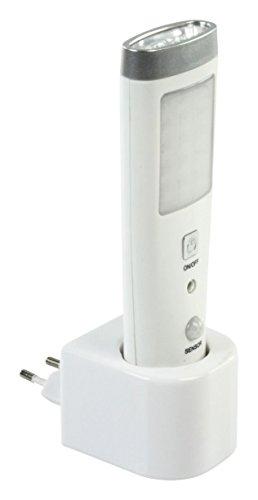 Taschenlampe mit Bewegungsmelder, 15LED, Akku)