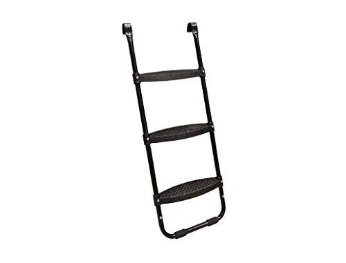 North Trampoline Leiter, praktisches Trampolin-Zubehör, 3 breite Stufen, sicher, stabil, witterungsbeständig (Modell 2019)