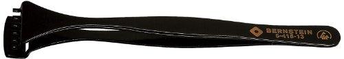 Preisvergleich Produktbild Bernstein Werkzeug GmbH 5-415-13 Wafer-Pinzette,  130 mm,  mit abgestufter unterer Schaufel und 6 Zähnen,  mit ESD-Beschichtung