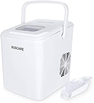 Bosare Ice Maker Machine with Ice Scoop and Basket