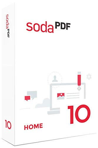 Soda PDF 10 Home|10 / Home|1 PC|-|PC, Laptop|Disc|Disc