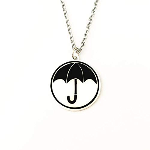 YUNMENG The Umbrella Academy Collar Cosplay Joyería de Moda de Metal Regalo...