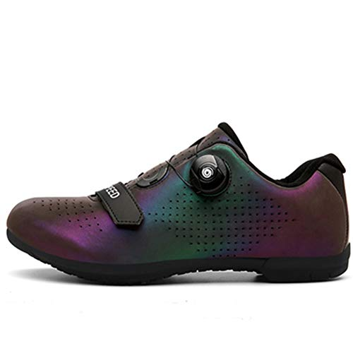 Cycling Shoes Spin Unlocked Bike Bicycle Road Mountain Biking Lock Shoes for Men