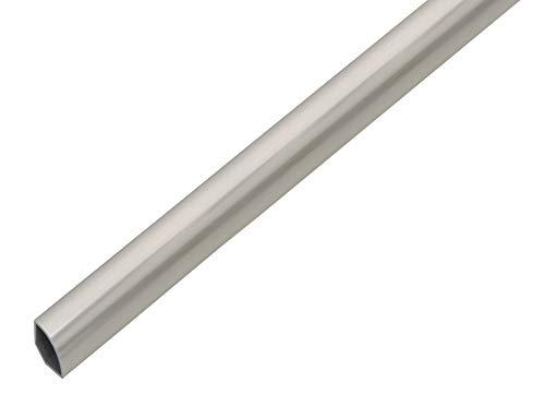 GAH-Alberts 485207 Vierteilkreisprofil   Kunststoff, Edelstahloptik   1000 x 22 x 1,2 mm