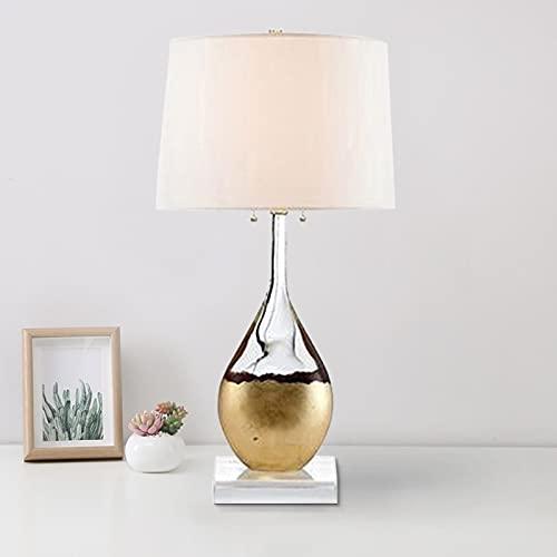 Moderna y minimalista botella de cristal lámpara de mesa de cristal para decoración de salón de mesa de mesa