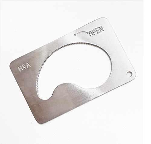 カードdeオープン カード式万能容器開栓 キャップオープナー ペットボトル