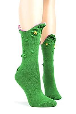 Foot Traffic, Women's 3D Socks, Fits Women's Shoe Sizes 4-10