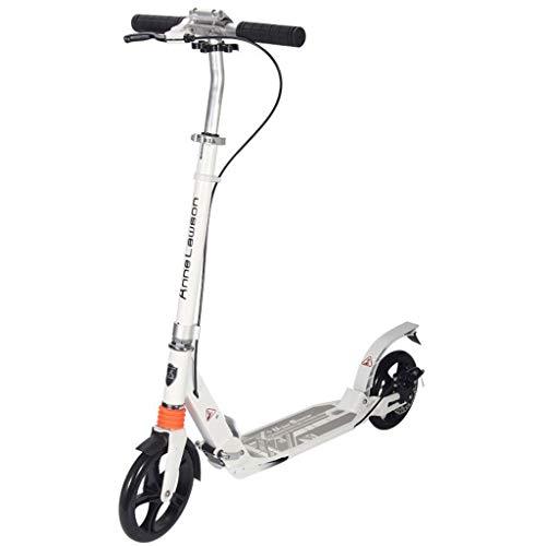 GTYMFH Scooter de pie Los niños Adolescentes Ultra -Ligero Altura Ajustable Fácil portátil Plegable for niños y Adultos de Peso Ligero Plegado fácil Regalos de cumpleaños portátil Scooter de Ciudad