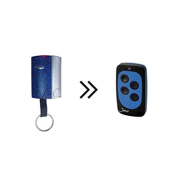 Mando-Garaje-JANE-TOP-B-Azul-Compatible-con-Pujol-VARIO-CODE-COSMOS