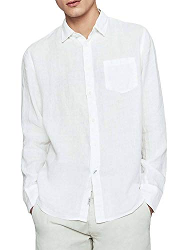 Pepe Jeans Camisa Addison Blanco para Hombre