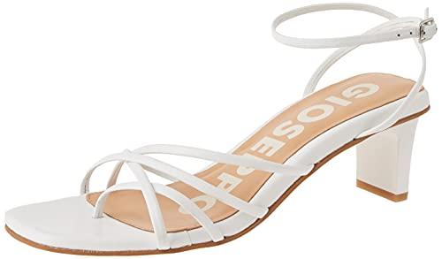 Gioseppo Delmar, Zapatos de Vestir par Uniforme Mujer, Off-White, 38 EU