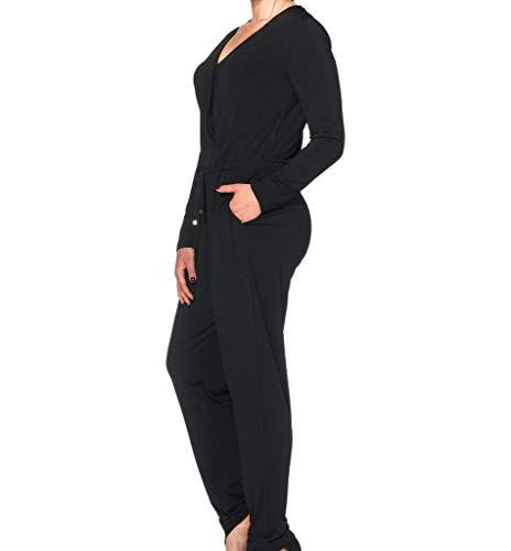 Sheego Overall Jumpsuit Einteiler schwarz 40 52 54 56 58 NEU