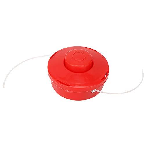 DaMohony Universal Trimmer Head Bump Feed Line Line Bobina Rojo Plástico Endurecido Cepillo Cortador Accesorios
