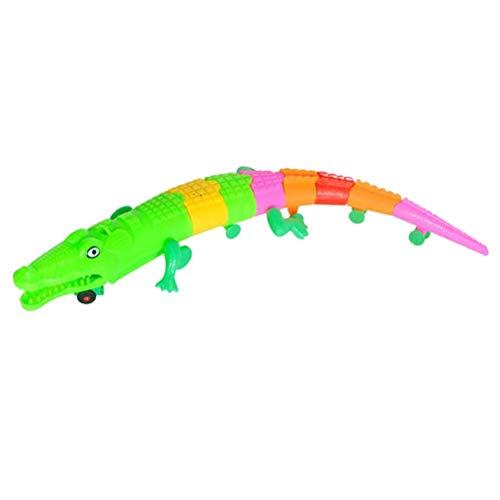 STOBOK Électrique Animal Jouet Musical Alligator Early Education Jouets Cognitifs pour Garçons Filles Enfants en Bas Âge De Couleur Aléatoire