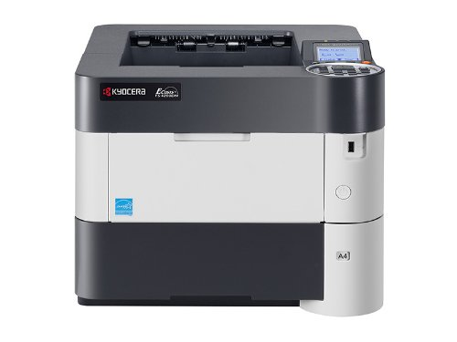 Kyocera 1102L12US0 Model FS-4200DN Black & White Network Laser Printer, 5 Line LCD Display Panel for Ease of Use, 52 Pages Per Minute, 2600 Sheet Maximum Paper Capacity, Convenient USB Host Printing