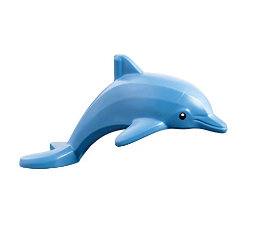LEGO Friends Disney Minifigure - Dolphin Sea Animal figure (Bright Light Blue)