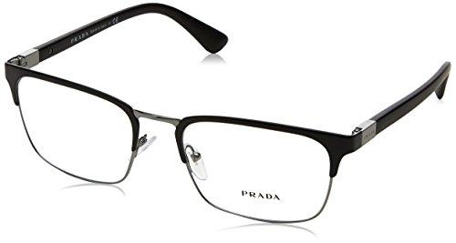 Prada PR54TV - 1BO1O1 Eyeglasses Matte Black 55mm