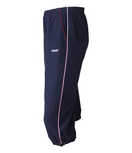 Soltice capribroek, trainingsbroek, joggingbroek, sportbroek knielang, comfortabele vrijetijdsbroek oversized (M tot 3XL)