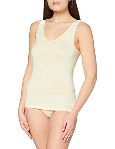 HANRO Damen Top Woolen Silk (0795 cygne), Gr. XS
