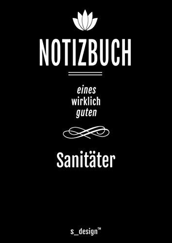 Notizbuch für Sanitäter: Originelle Geschenk-Idee [120 Seiten kariertes DIN A4 blanko Papier]