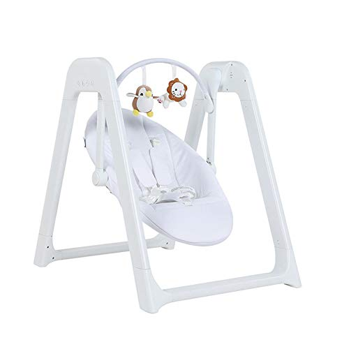 Why Choose Baby First Bouncer with Soothing Music Vibration and Toys/White