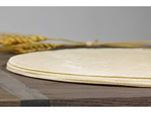 Ultra Thin Crust Original Round Par Baked Pizza Shell Flatbread, 14 inch -- 50 per case.