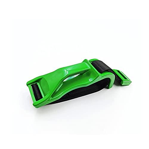 JHNEA Cinturon Coche Embarazada, inturón de Seguridad, de Maternidad cinturón Ajustable para Embarazadas, un cinturón de protección imprescindible para Las Madres Embarazadas,Green_2 PCS