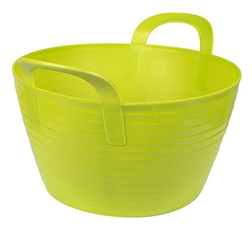 Kerbl 323530 Flexibler Trog Flex Bag, Circa 12 Liter, grün