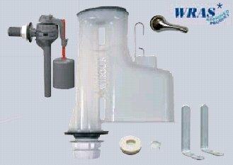 WIRQUIN DOC M Laag niveau 8/2 sifon plus TOPY kant inlaatklep kit