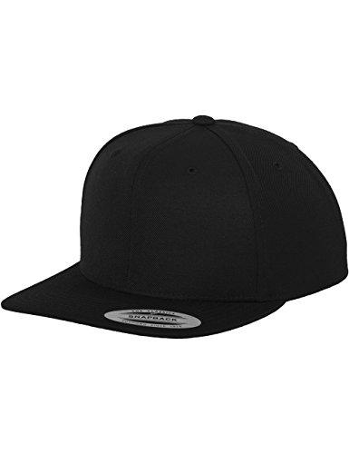 Yupoong Unisex Classic Snapback Cap Kappe, black, Einheitsgröße