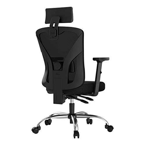 Hbada Ergonomischer Bürostuhl Schreibtischstuhl Mesh Bürostuhl verstellbar Armlehnen...