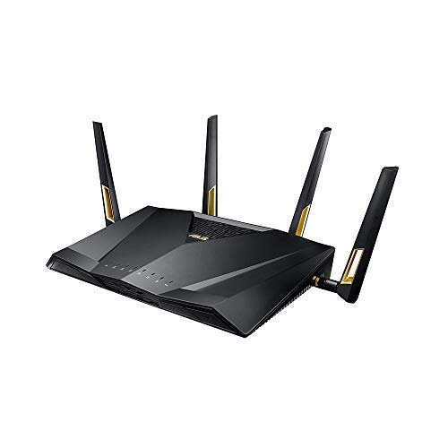 Asus RT-AX88U AX6000 Dual-Band Wifi Router, Aiprotection Lifetime Security by Trend Micro, Aimesh Compatible...