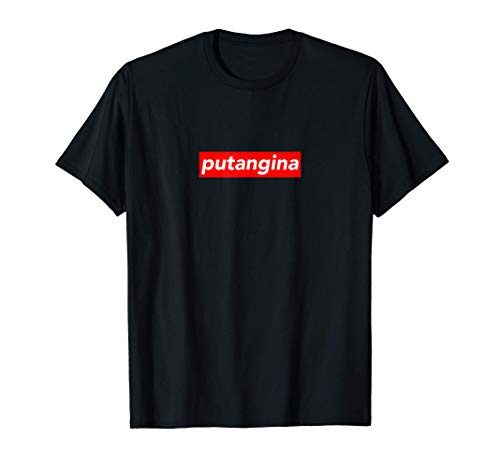Putangina Box Logo Filipino Philippines Funny Pinoy Kuya T-Shirt