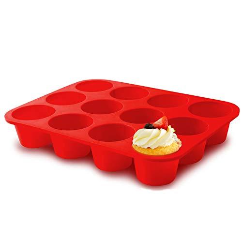 Silicone Jumbo Muffin Pan 12 Cups