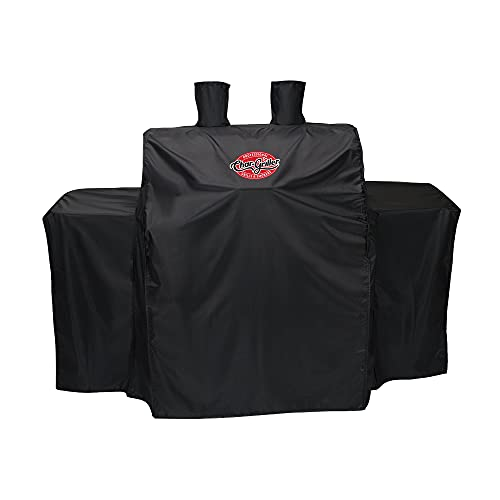 Char-Griller 3055 3-Burner Gas Grill Cover, Black