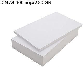¡¡ NOVEDAD !! Paquete folios 50 hojas blanca DIN A4/ 80GR